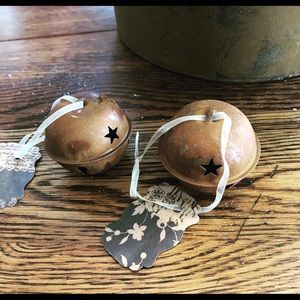 Rustic metal bells